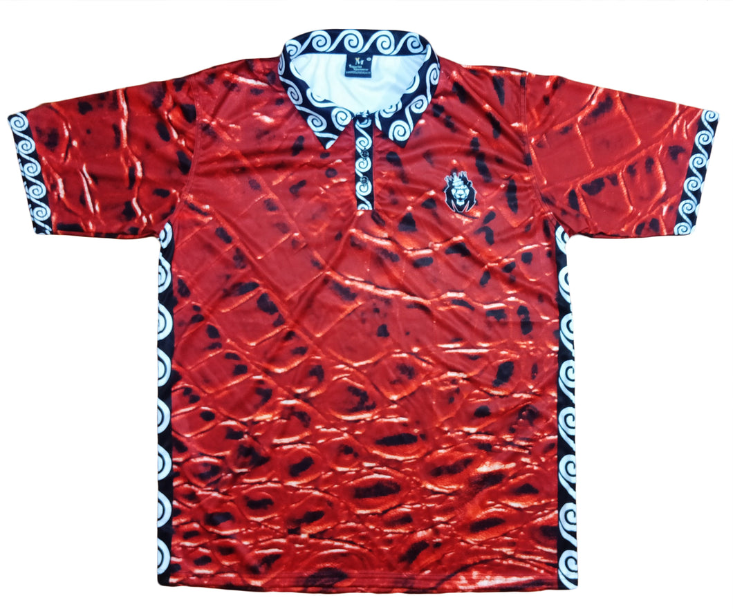 Mperial Red Croc Polo