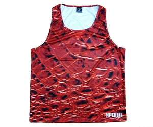 Mperial Red Croc Tank Top
