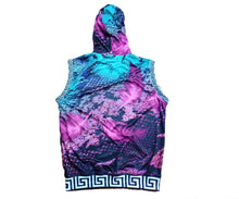 Load image into Gallery viewer, Mperial Feathers Sleeveless Hoodie