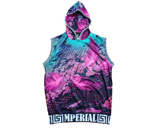 Mperial Feathers Sleeveless Hoodie*