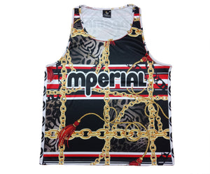 Mperial Tassle & Chains Tank Top