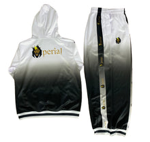 Load image into Gallery viewer, Mperial Fade Sweatsuit (wht/blk)