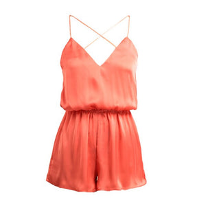 Sexy Women Jumpsuit Deep V Neck Crisscross Spaghetti Strap Bodysuit Female Sleeveless Culotte Rompers Combinaison Short Femme-cigauy