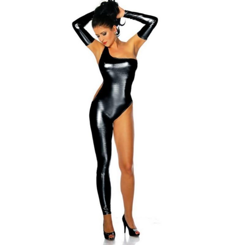 Women's Clothing Nice New Arrival Off Shoulder Bodycon Clothes For Women Rompers Sleeveless Nightwear Pole Dancing Body Femme New Jumpsuit Women Black High Quality And Inexpensive
