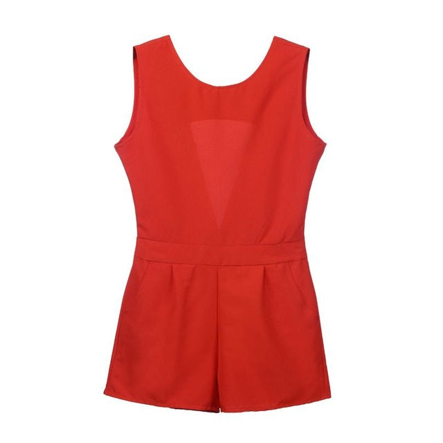 NEW Womens Holiday Mini Playsuit Ladies Jumpsuit Romper Summer Beach Jumpsuit Combinaison Femme #GH-cigauy