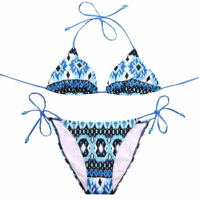 NAKIAEOI Sexy Bikinis Women Swimsuit 2018 Beach Wear Bathing Suit Push Up Swimwear Female Printed Brazilian Bikini Set Swim Wear-cigauy