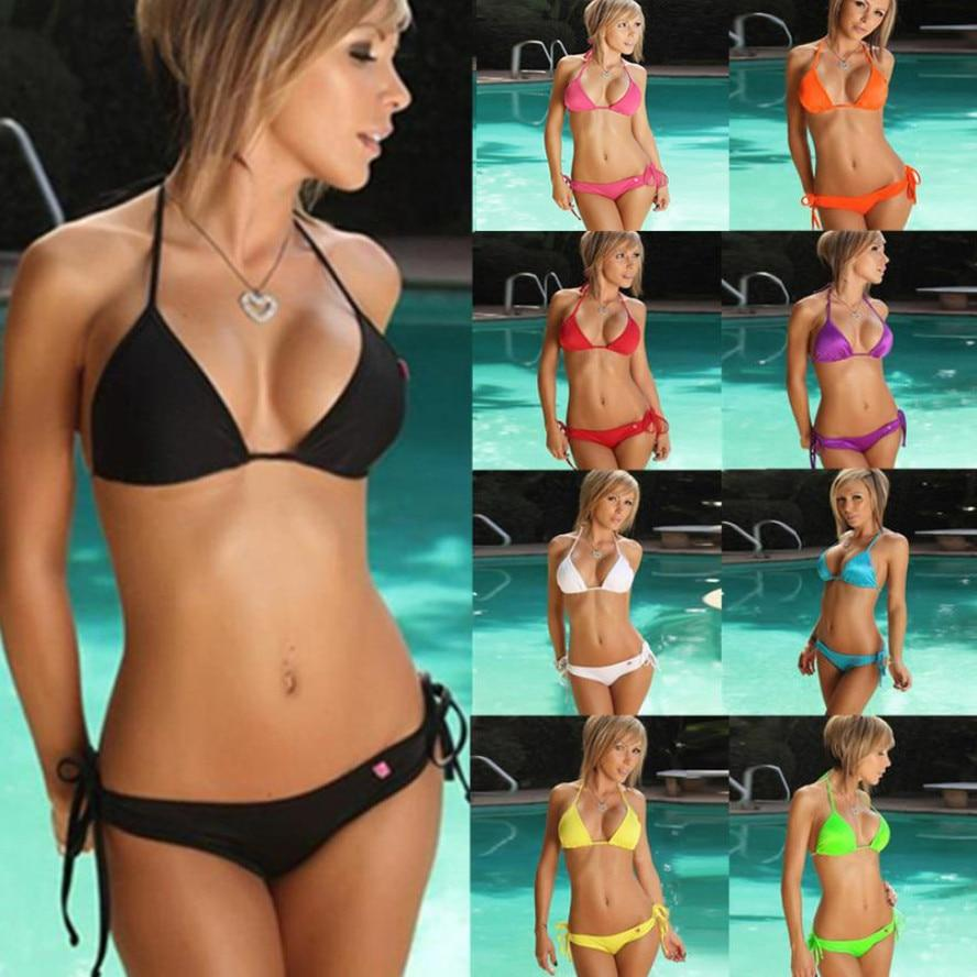 Swimwear Bikini 2018 Summer Sexy Suit Swimming Trunks Bathsuit Swimwear Push Up High Quality Bathing Suit maillot de bain femme-cigauy