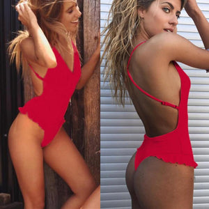 New Arrival Women Sexy Ruffles Bikini Push-Up Padded Swimwear Popular Swimsuit Bodysuit New Style Sexy Women's Swimsuits Biquini-cigauy