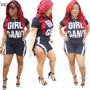 VAZN 2018 New Arrive Famous Brand Summer Rompers Short Sleeve Casual Rompers O-Neck Sexy Rompers S630-cigauy
