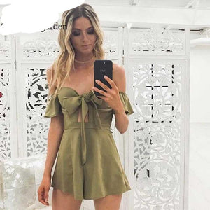 NewAsia Garden Sexy Jumpsuit Rompers Womens Jumpsuit Bustier Padded Playsuit Jumpsuits For Women 2018 body feminino Overalls New-cigauy