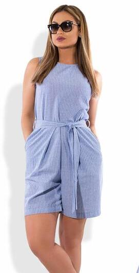2018 women jumpsuit overalls playsuit sleeveless striped printed rompers women jumpsuit 5XL 6XL plus size women short mono mujer-cigauy