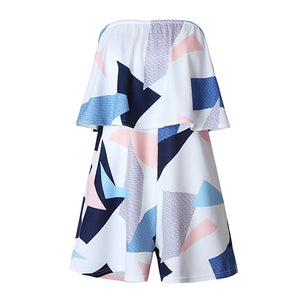 TIGENA 2018 Summer Rompers Womens Jumpsuit Shorts Female Sexy Backless Beach Playsuit Bodysuit Overalls For Women Body Femme-cigauy