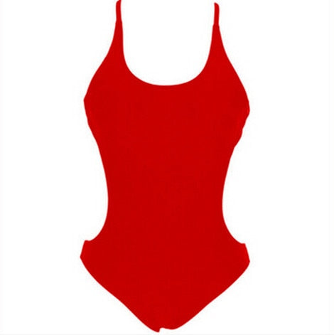 One Piece Swimsuit 2018 New Shorts Rompers Jumpsuits Women Sexy Spaghetti Strap Backless Playsuit Romper Ladies Bodysuits-cigauy