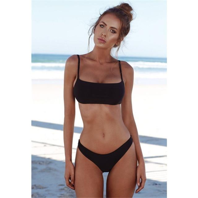 2018 Hot Low Waist Bikini Push Up Swimwear Female Bathing Suit Set Women Brazilian Bikini Thong Swimsuit Swimming Suit For Women-cigauy