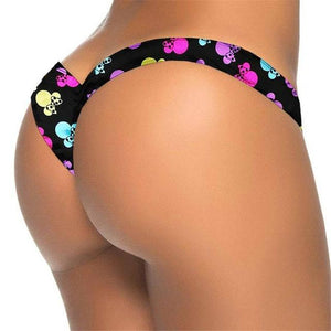 V shape Sexy Brazilian Bikini Bottom 2018 Bather Women Swimwear Female Thong Tanga Mini Micro Swim Brief Panties Underwear V87-cigauy