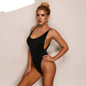 Sleeveless bandage one piece playsuit jumpsuit back cut out Women's tight high waist Bodysuits Summer Playsuits Jumpsuits new-cigauy