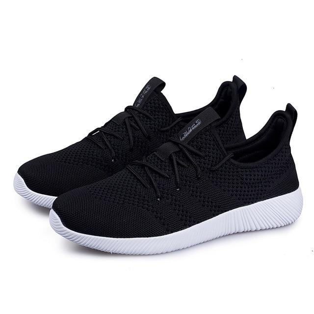 Bjakin Sport Running shoes for Men Women Summer Shoe Air Mesh Sneakers Breathable Couple Footwear Chaussure de sport Size 35-45-cigauy