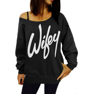 Autumn Hoodies Plus Size Women Sweatshirts Sexy Red Big Lips Printed Off Shoulder Long Sleeve harajuku Pullovers Hoodie 2018-cigauy