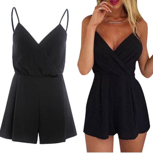 Bodysuit Playsuit Women Sexy Playsuit Bodycon Party Jumpsuit Romper Trousers Clubwear Monos Cortos De Mujer#LSJ-cigauy