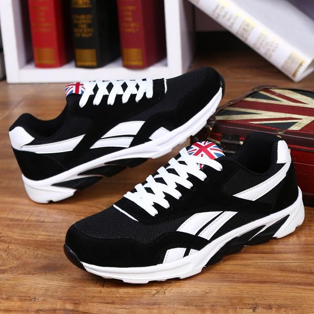 Men Sneaker Running Shoes For Men Lightweight Laces Sneakers Breathable Sports Shoes Jogging Footwear Athletics Male Shoes 46 47-cigauy