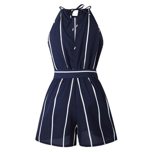 RACHEL VICHY Sexy New Women Striped Jumpsuit Vintage Kimono Casual Bodysuit Female Overalls Playsuit Office Lady Clothing RV0063-cigauy