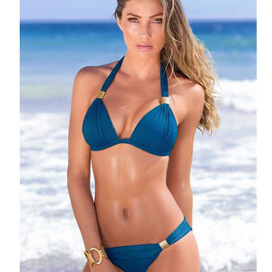 2018 Sexy Bikini swimsuit women separate swimming suit Beachwear Bathing Suits Swim Wear Swimwear Female Bikini XXL-cigauy