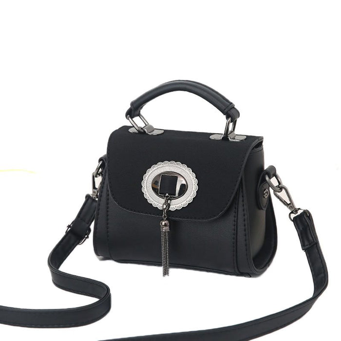 Exquisite Mirror Tassels Design Crossbody Bag