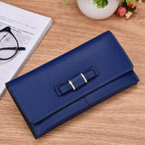 Multi-Function Bowtie Women Wallet