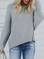 Back Cross Strap Backless Sweater knitwear