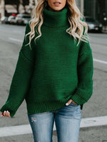 Winter Coarse Wool Mid-Length Pullover Knitwear