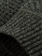 Plain Micro-Elastic Wool Blends Men's Sweater
