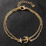 Female Simple Style Anklets