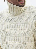 Turtleneck Plain Standard Fall Casual Sweater