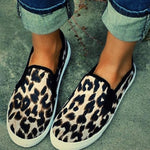 Slip-On Round Toe Flat With Casual Low Heel Thin Shoes