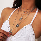 Pendant Necklace European Cross Female Necklaces