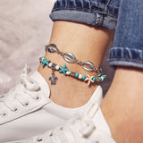 Animal Female Bohemian Anklets Anklets