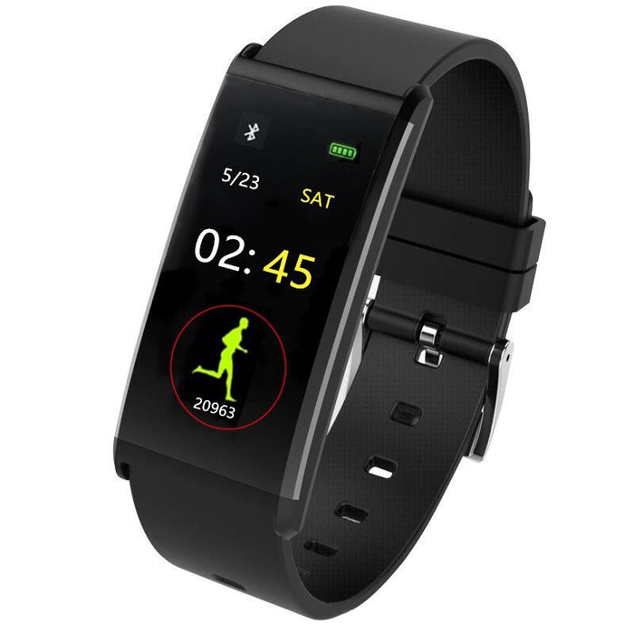 Silicon Touch-Screen Waterproof Smart Wristbands