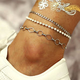 Plain Female Sweet Anklets Anklets
