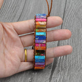 Woven Color Block Ethnic Unisex Bracelets