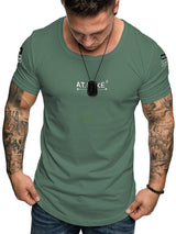 Short Sleeve Slim T-shirt