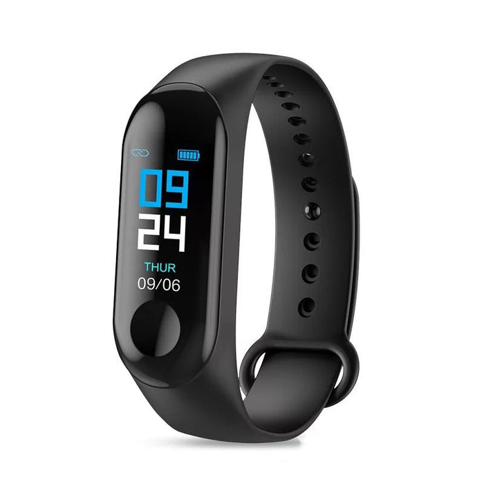 Fitness Tracker Touch-Screen Silicon Smart Wristbands