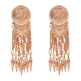 Geometric European Tassel Gift Earrings