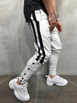 Color Block Patchwork Pencil Pants Casual Spring Casual Pants