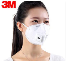 Load image into Gallery viewer, 3M 9501V+ KN95 Particulate Respirators (Earloop, Exhalation Valve) - FDA Approved for Covid-19 Protection
