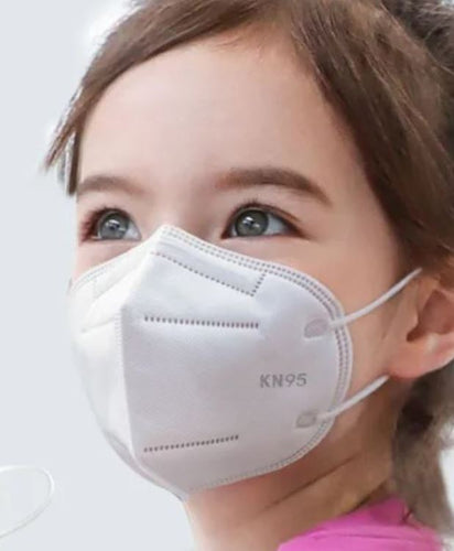 Children's KN95 Particulate Respirators - Equivalent as US NIOSH N95 Performance