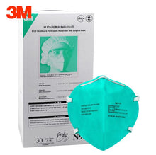 Load image into Gallery viewer, 3M N95 9132 Healthcare Particulate Respirators and Surgical Mask (Headband, No Valve) - CDC NIOSH Approved