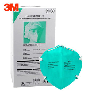 3M N95 9132 Healthcare Particulate Respirators and Surgical Mask (Headband, No Valve) - CDC NIOSH Approved