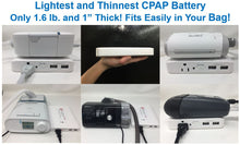 Load image into Gallery viewer, Zopec Explore Mini Travel CPAP Battery (27,000 mAh) - 2021 Model!