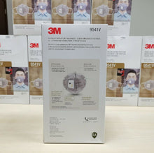 Load image into Gallery viewer, 3M 9541V KN95 Particulate Respirators (Earloop, Activated Carbon, Exhalation Valve) - FDA Approved for Covid-19 Protection