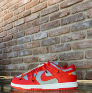 NIKE X OFF WHITE DUNK LOW 'RED '